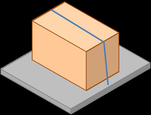 Esempio di fissaggio mediante ancoraggio per attrito