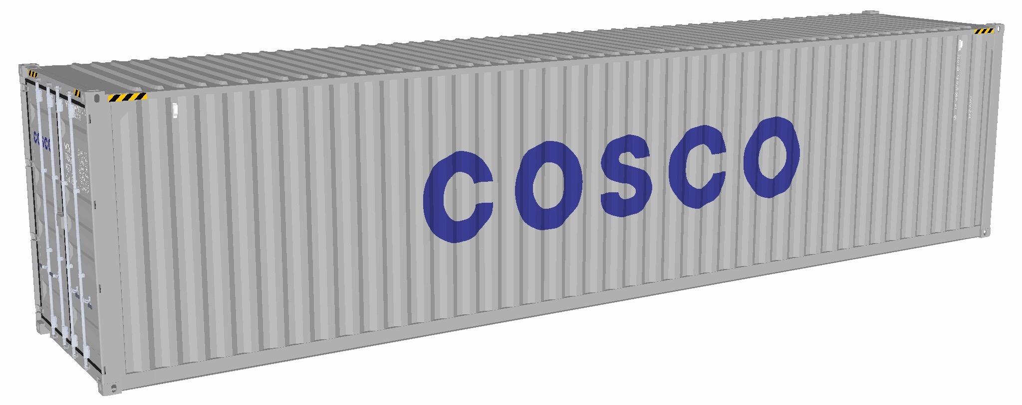 Container 40 ft chiuso general purpose