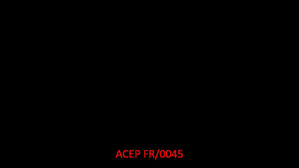 Targhetta CSC '72 con riferimento al programma ACEP