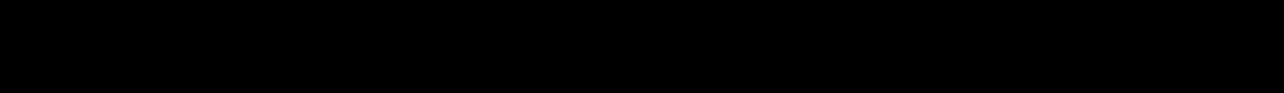 Formula per il calcolo della posizione del baricentro